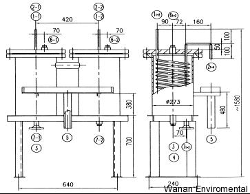 采样冷却器结构