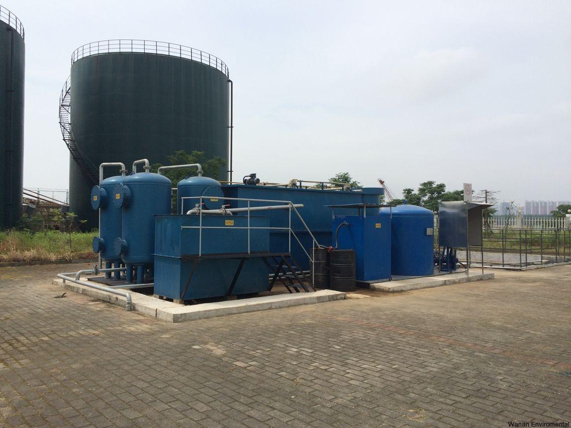 广西石油分公司含油污水处理装置