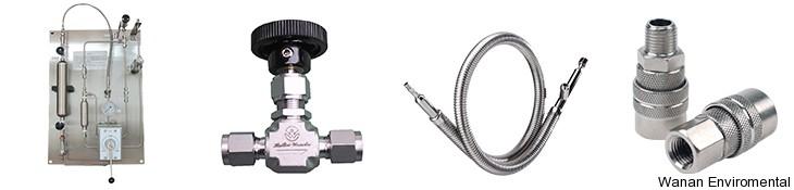 Granule sampler / powder / pneumatic piston / in-line